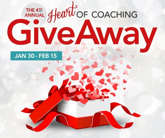 2020 heart of coaching giveaway